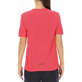 UYN Airstream Shortsleeve Running Shirt Women, rose red